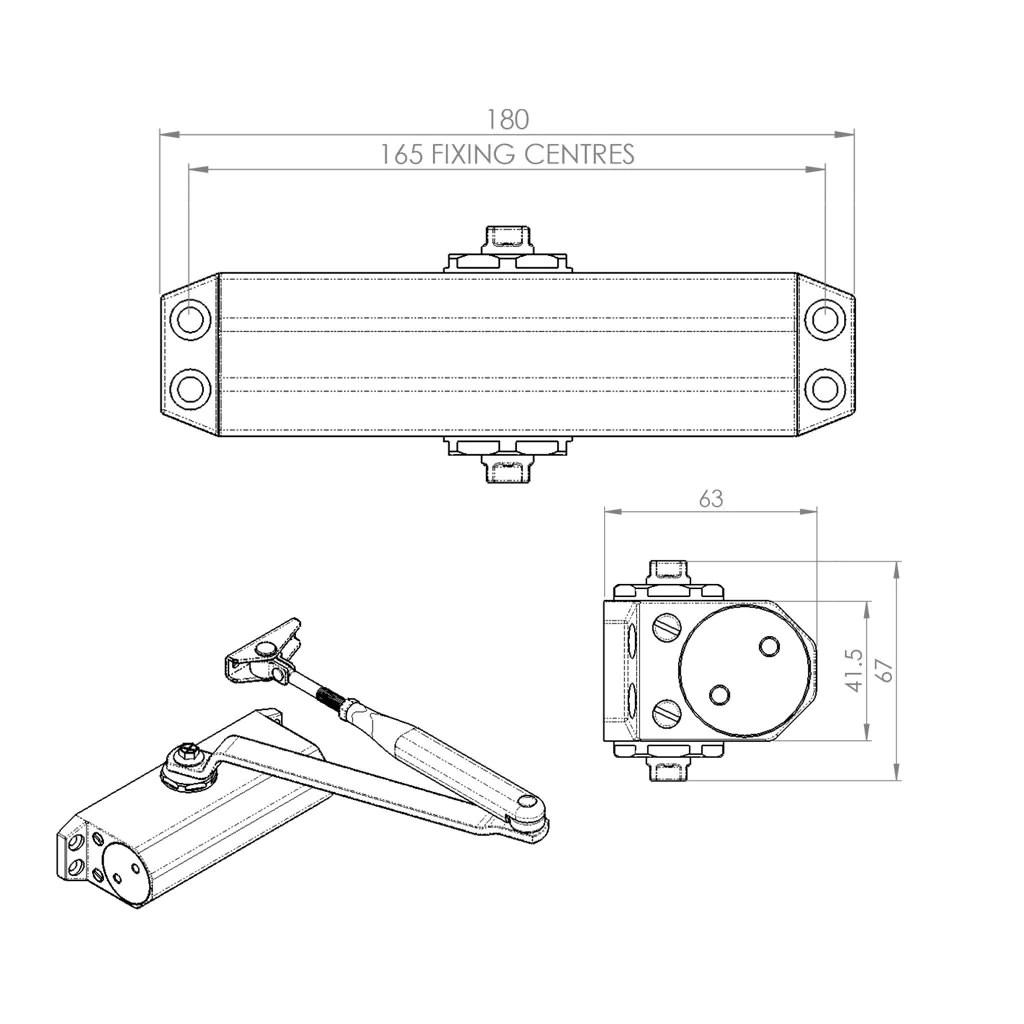 small resolution of door closer diagram