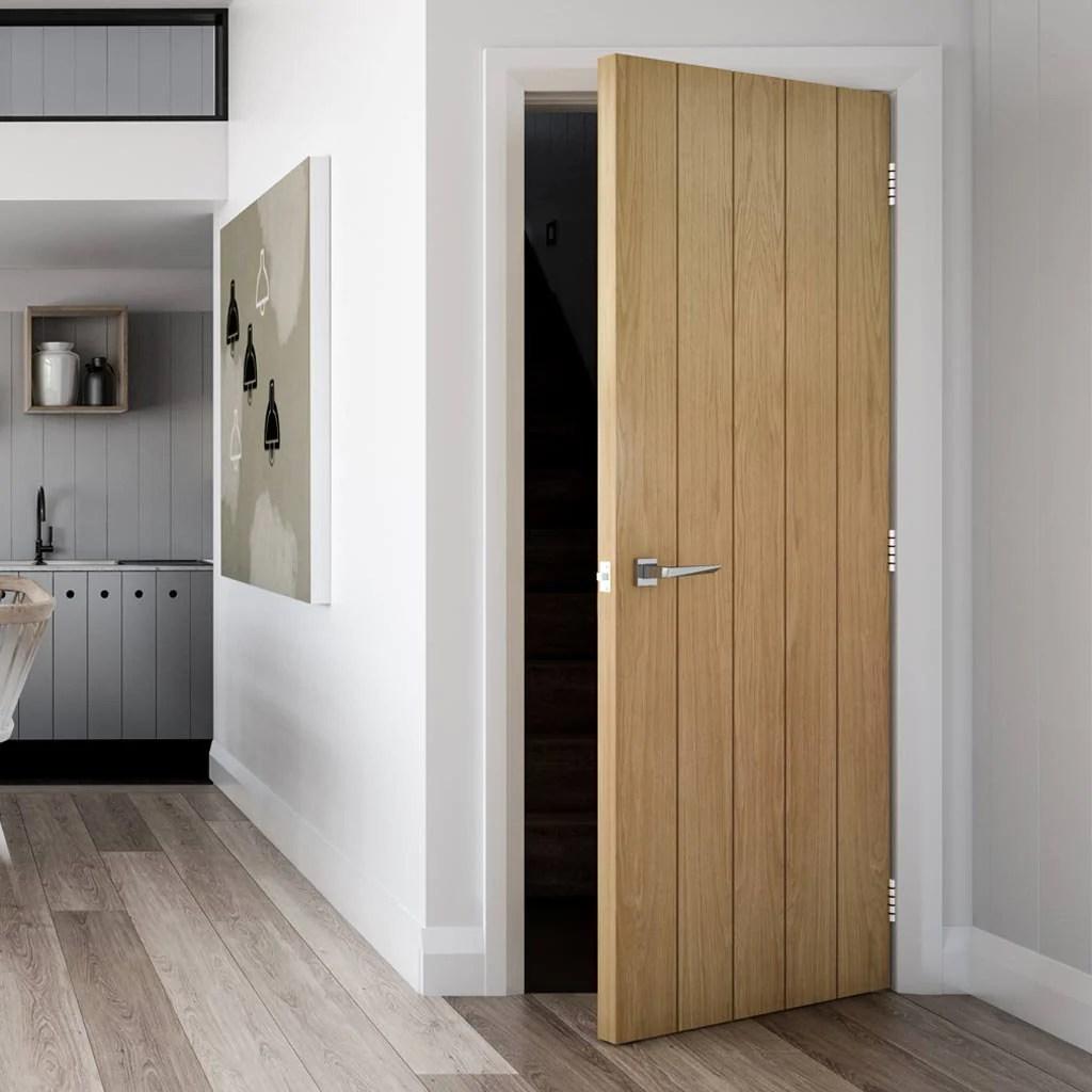 Modern Oak Veneer Doors Novocom Top