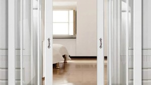 Double Sliding Door Wall Track Worcester 3 Pane Doors