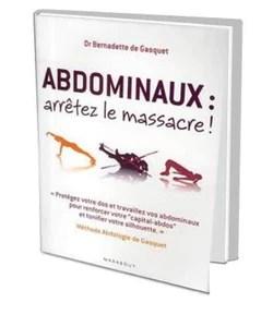 Abdominaux : Arrêtez Le Massacre ! : abdominaux, arrêtez, massacre, Livre, Méthode, Abdominal, DeGasquet,