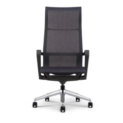 Executive Mesh Office Chair Modern Wicker Bella High Profile Freedman S Furniture