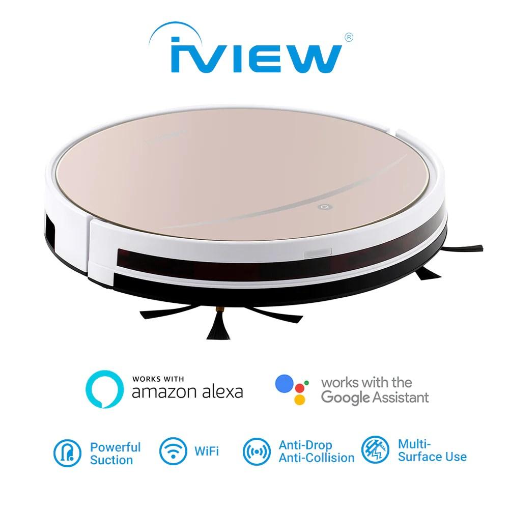 iview 2 in 1 smart vacuum with robot mop works with alexa iview us smart vacuum diagram [ 1000 x 1000 Pixel ]