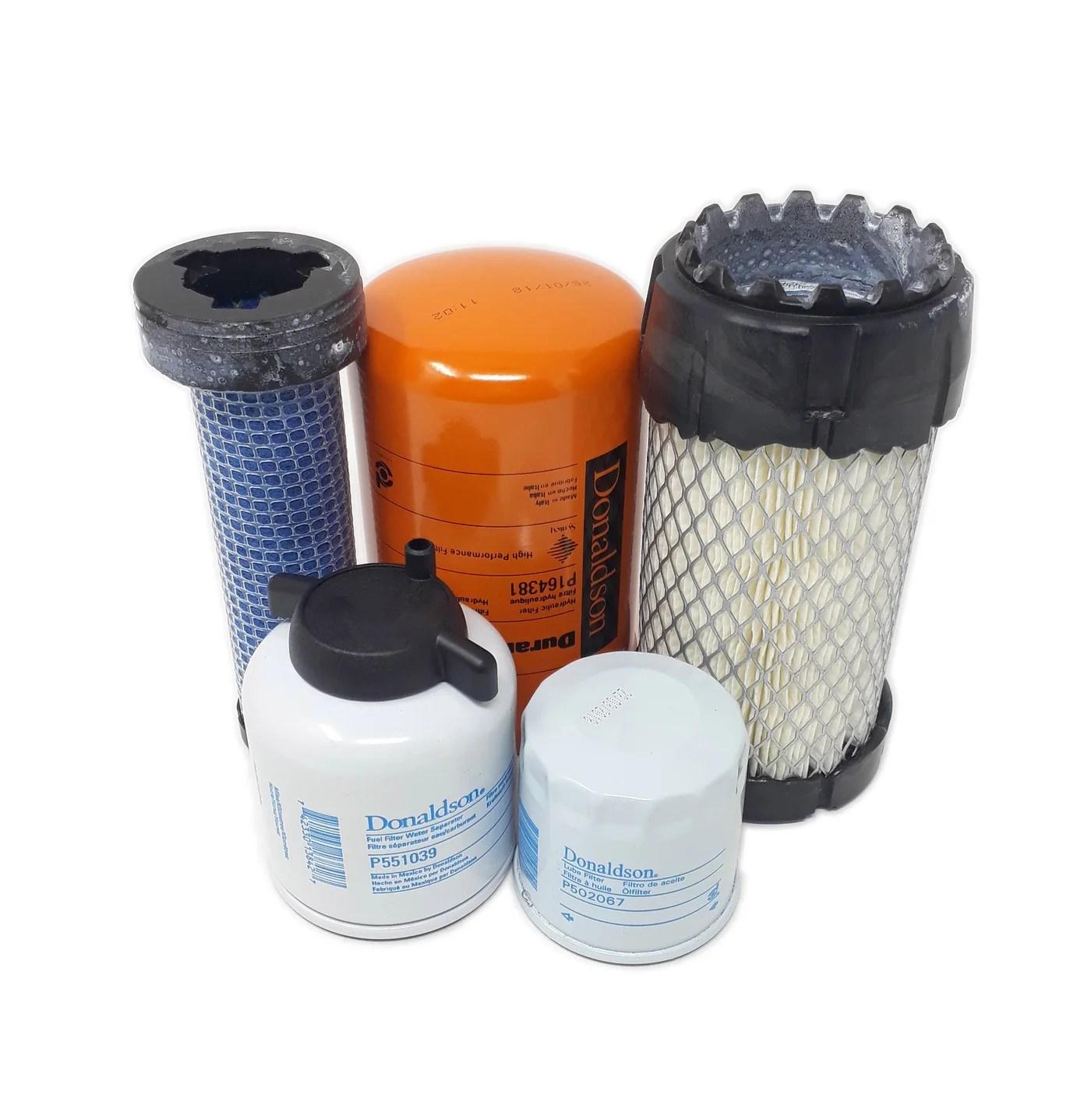 small resolution of bobcat mt55 mini track loader filter service kit crossfilters