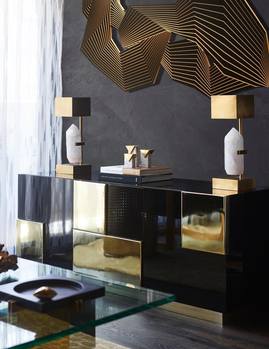 Black Living Room Ideas Decorating With Black Luxdeco