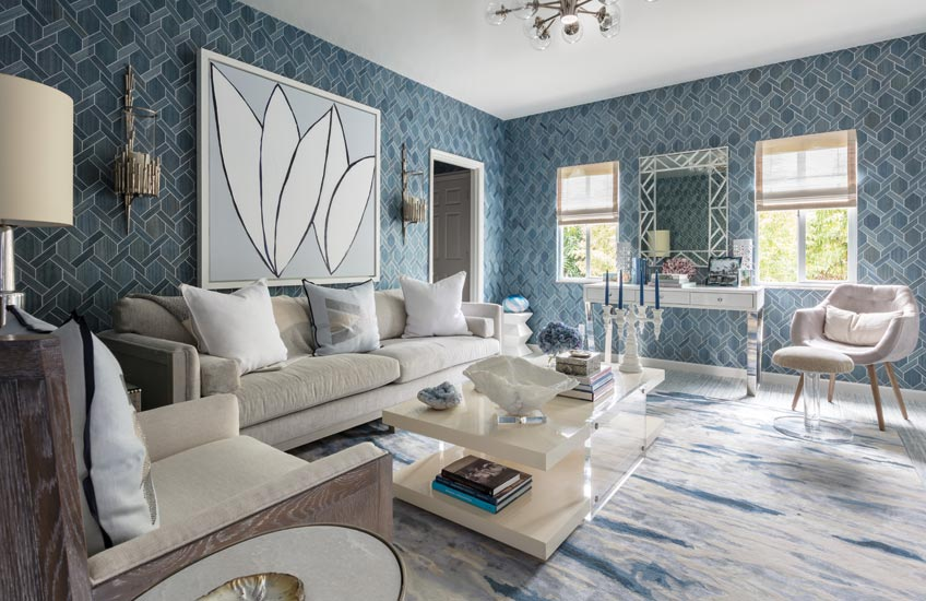 12 Incredible Blue Living Room Colour Scheme Ideas