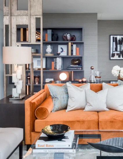 Orange Living Room Ideas Decorating With Orange Luxdeco