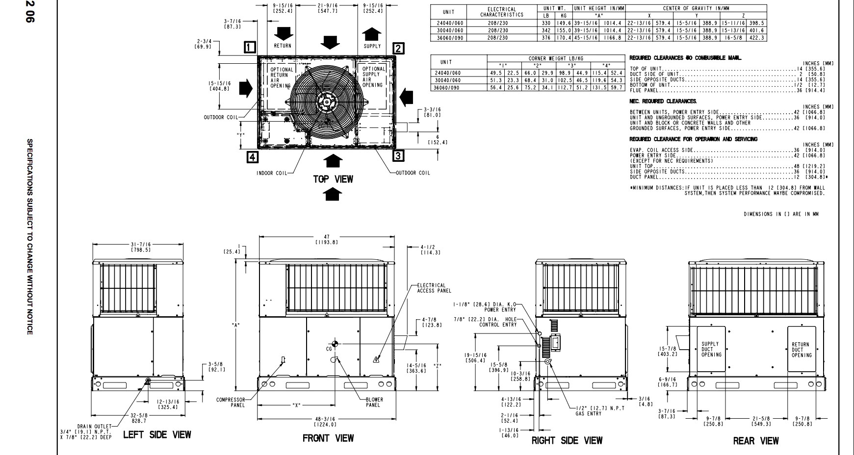 hight resolution of  wiring diagram on icp heil tempstar 3 ton packaged unit 14 seer 230v 1 phase gas