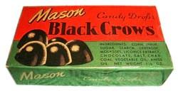 crows black licorice gum