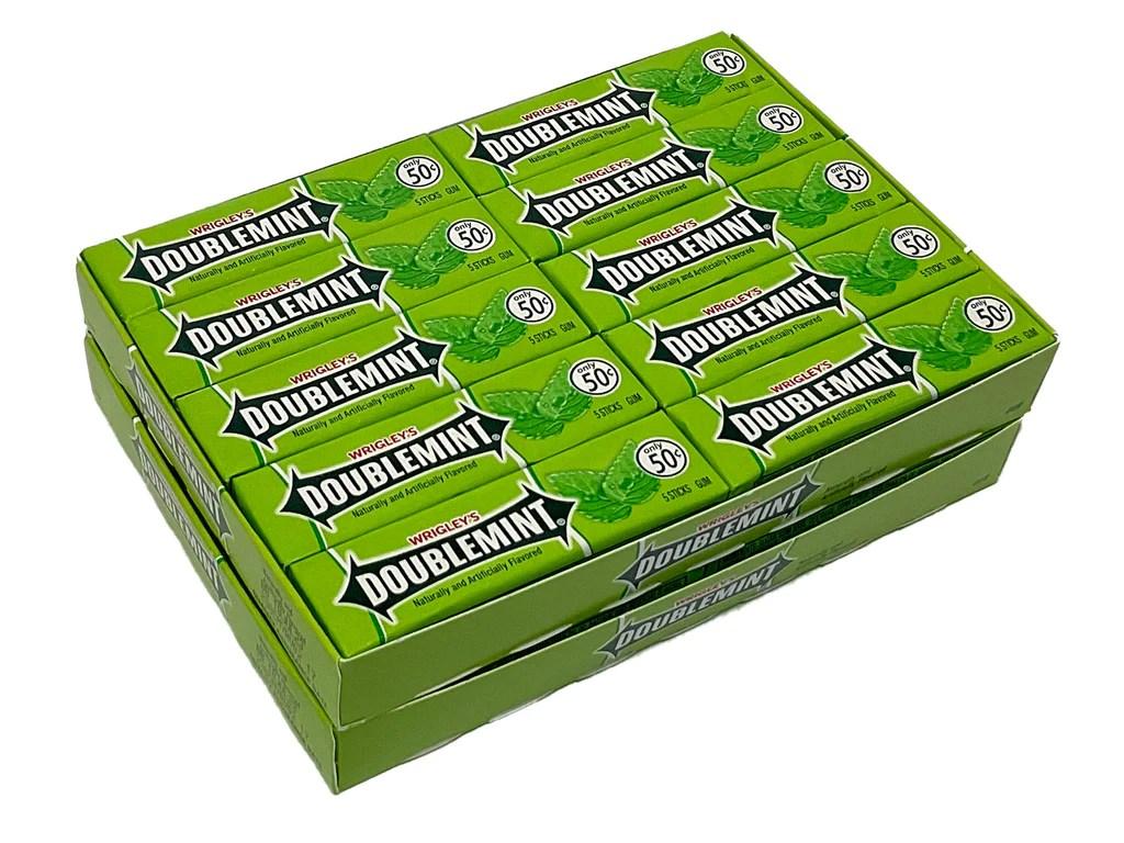 Wrigleys Doublemint Gum 1 Pack