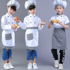 Kitchen Wear Items Girls Boy Halloween Cosplay Costume Chef Uniform Cooking Clothing Child Clothes 89