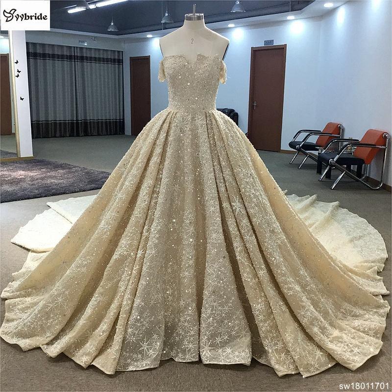 surmount luxury beading wedding