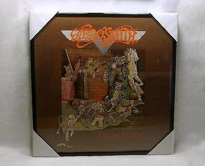 Aerosmith Framed Album Cover Toys In The Attic 1975