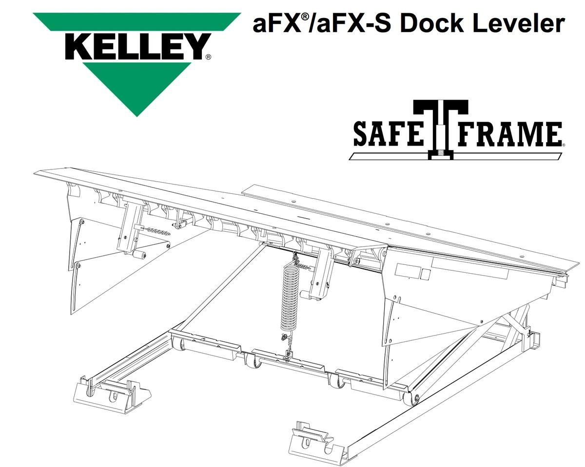 parts kelley afx air dock leveler in stock loading dock pro  [ 1200 x 959 Pixel ]