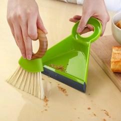 Full Circle Kitchen Brush Dog Proof Trash Can Tiny Team Mini Dustpan Set Bulbhead