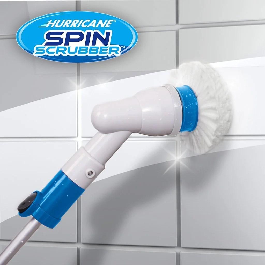 hurricane spin scrubber