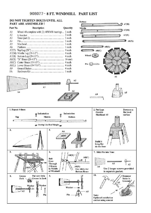 Yard Windmill Parts : windmill, parts, Windmill, Parts, Names, Cheaper, Retail, Price>, Clothing,, Accessories, Lifestyle, Products, Women
