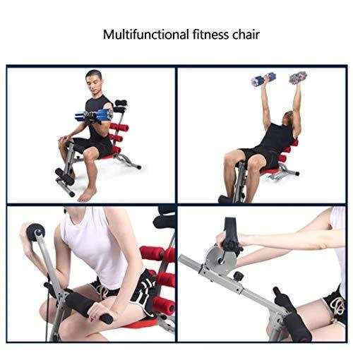 ab cruncher chair swimming pool table and chairs strength training foldable abdominal trainer core exercise machine home multi function weight loss