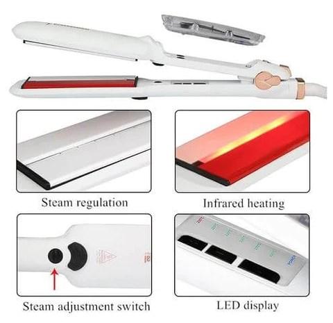 Infrared & Steam Straightener Functions