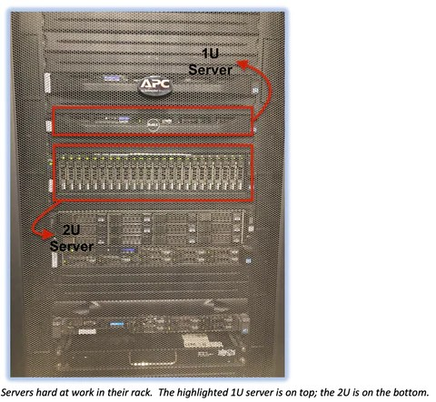 1u vs 2u rack servers