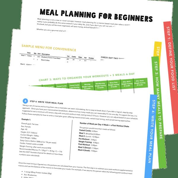 Meal Planning for Beginners – gaugegirltraining