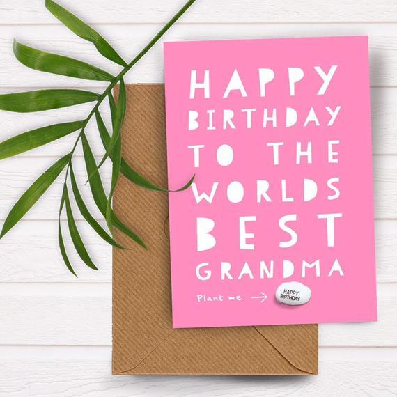 worlds best grandma birthday