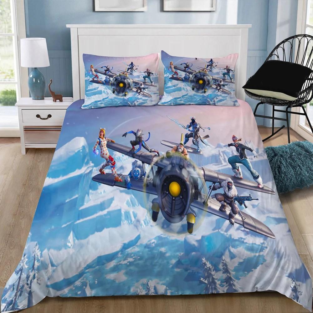 fortnite 3d bedding sets
