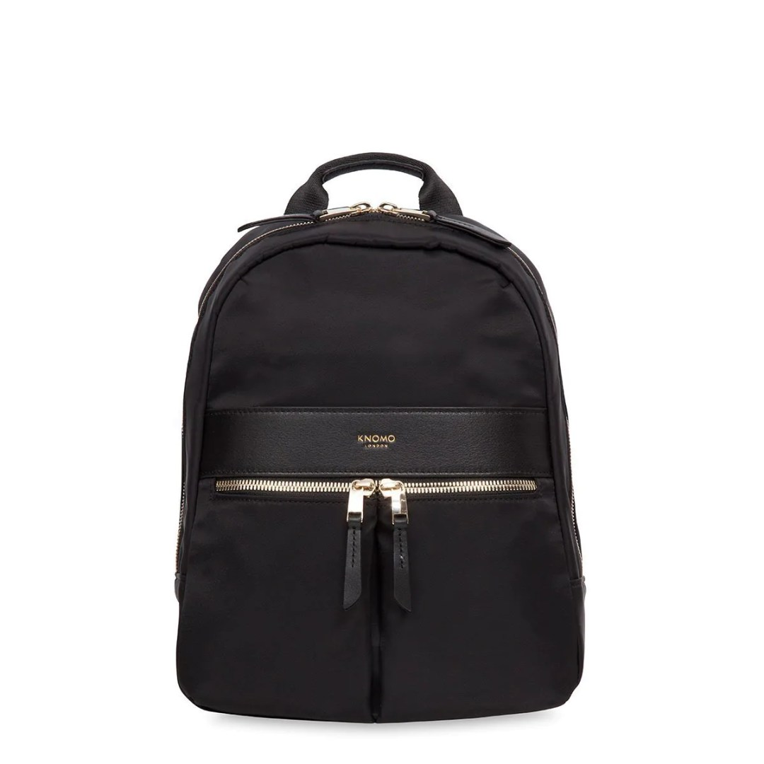 53b3b439c11 KNOMO Black Mini Beauchamp Mini Backpack – 10″ KNOMO® – Knomo –  89.25 –  KNOMO Grey ...