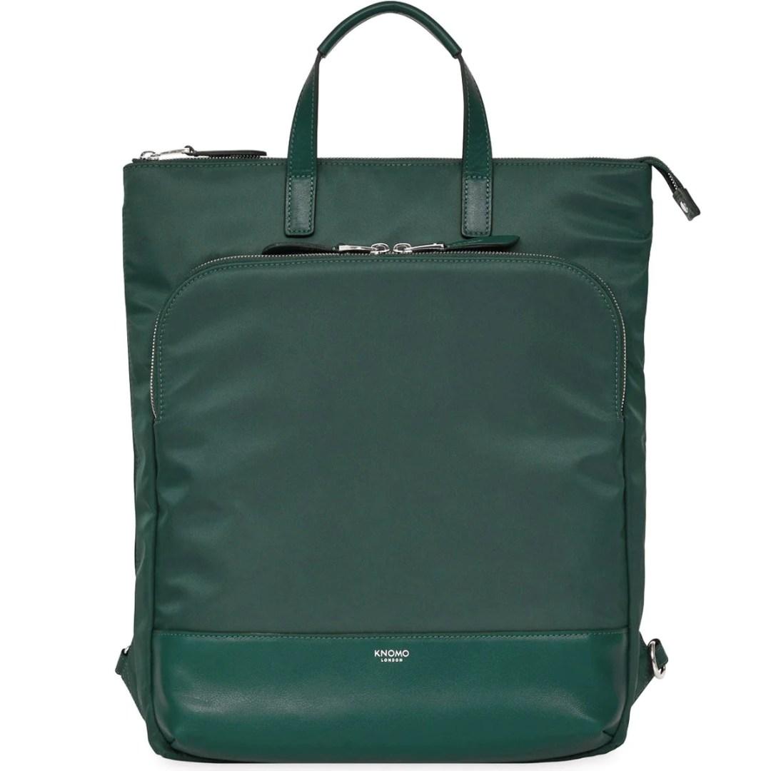 46e3e87d74 KNOMO Deep Pine Harewood Laptop Tote Backpack – 15″ KNOMO® – Knomo –  149.25
