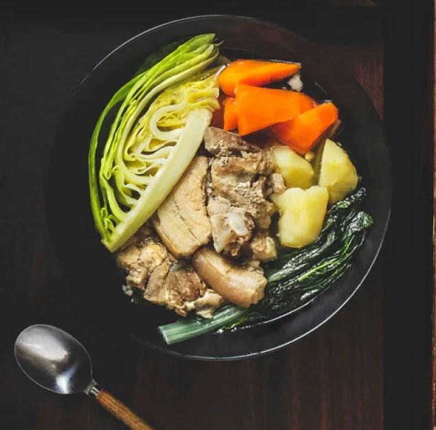 brown vegetables nutrients