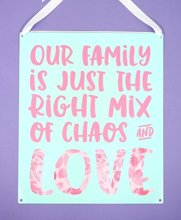 Download Family Chaos & Love SVG - Happiness is Homemade