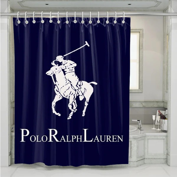 Ralph Lauren Polo Blue Shower curtain  onymart