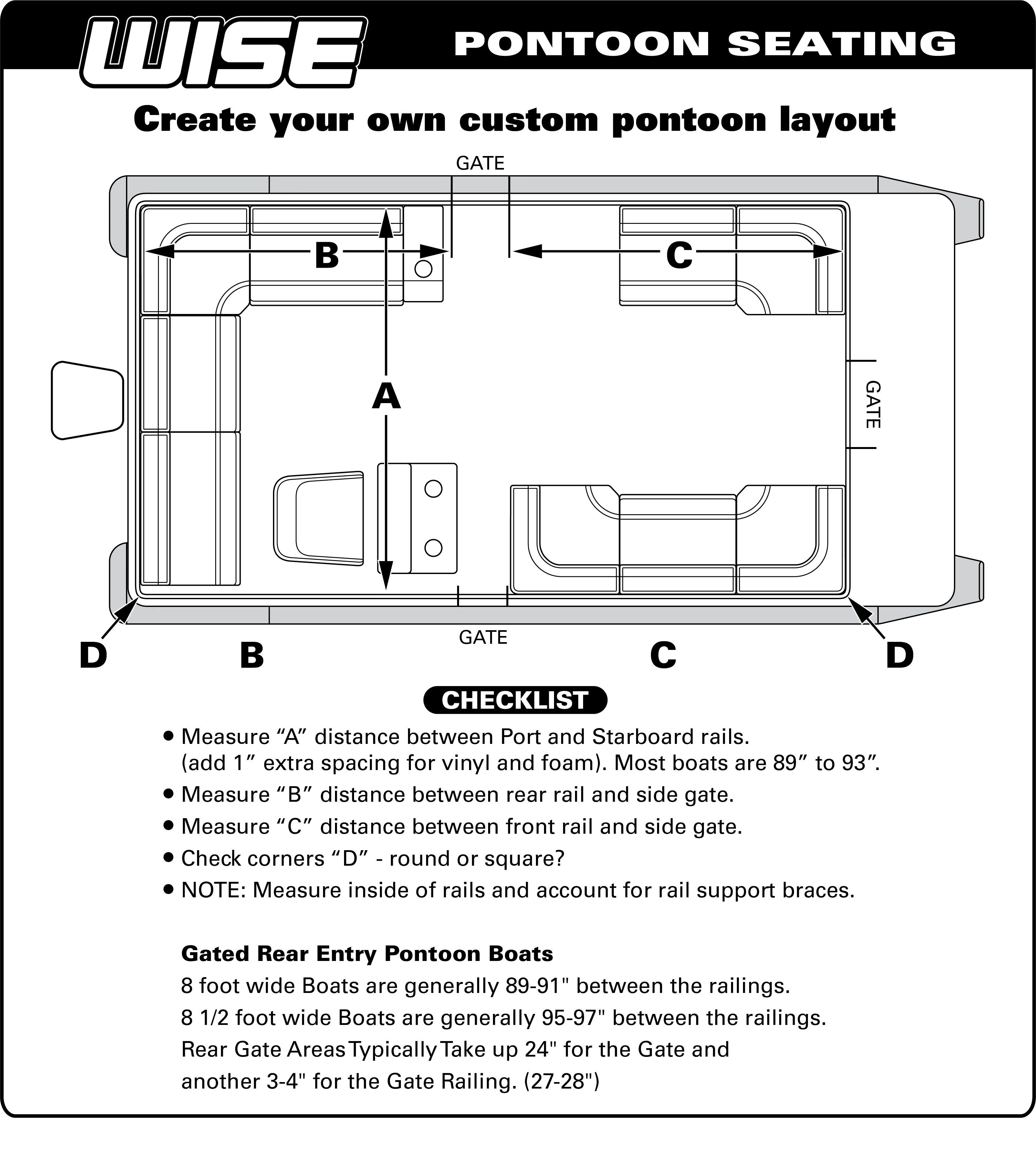 hight resolution of general pontoon assembly