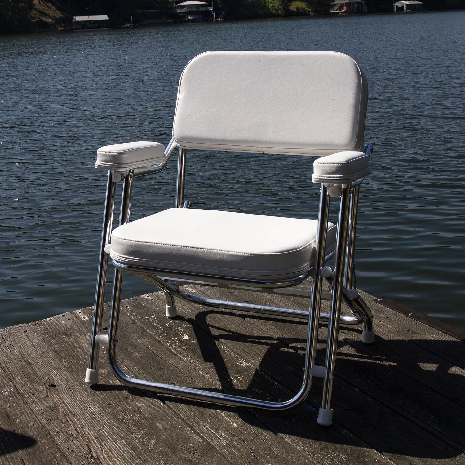 boat chairs folding deck walmart office wise 3316 boaters value chair seats