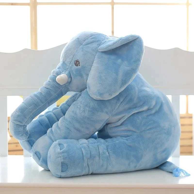 colorful giant elephant pillow baby toy