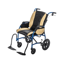 Portable Wheel Chair Eros Revolving Strongback Premium Lightweight Wheelchair Deluxe Travel Package