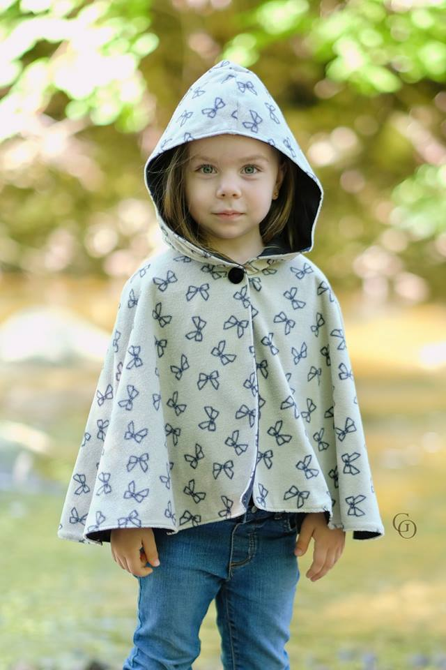 Kids Cape Pattern : pattern, Nightfall, Pattern, Ellie