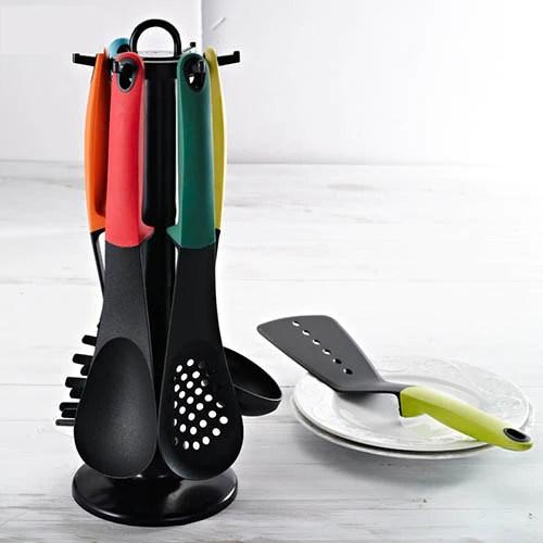 kitchen tool set narrow island 7pcs carousel utensil homieshome