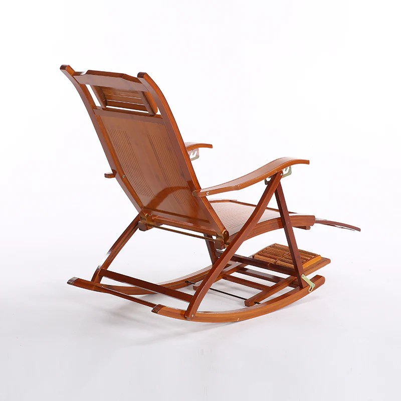 foldable rocking chair folding director chairs aluminum bamboo thescotchdiaries store