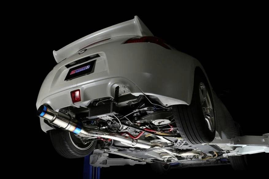 expreme 370z titanium exhaust muffler