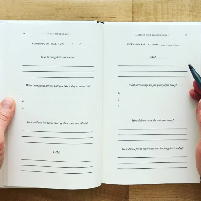 The I AM Journal: A simple, beautiful and powerful manifestation
