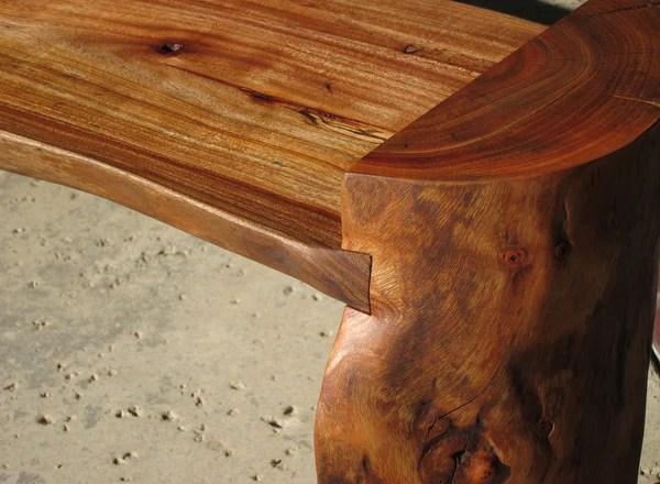 Log Bench Woodwaves