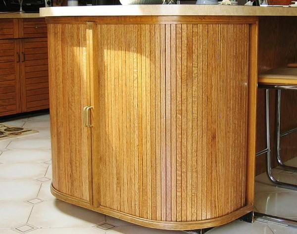 Kitchen Cabinet Tambour Woodwaves