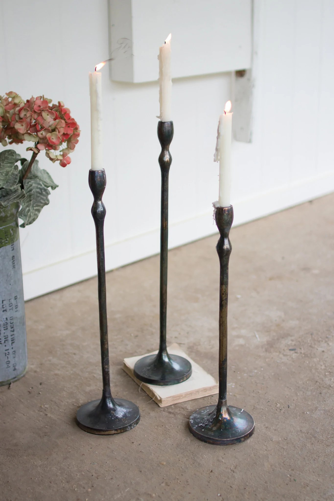 Modern Candle Holders - Woodwaves