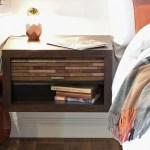 Floating Nightstand Eco Geo Espresso Woodwaves