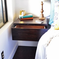 Bohemian Living Room Wall Ideas Best Paint Colors For Behr Mounted Nightstands Floating Drawers - Mayan Espresso ...