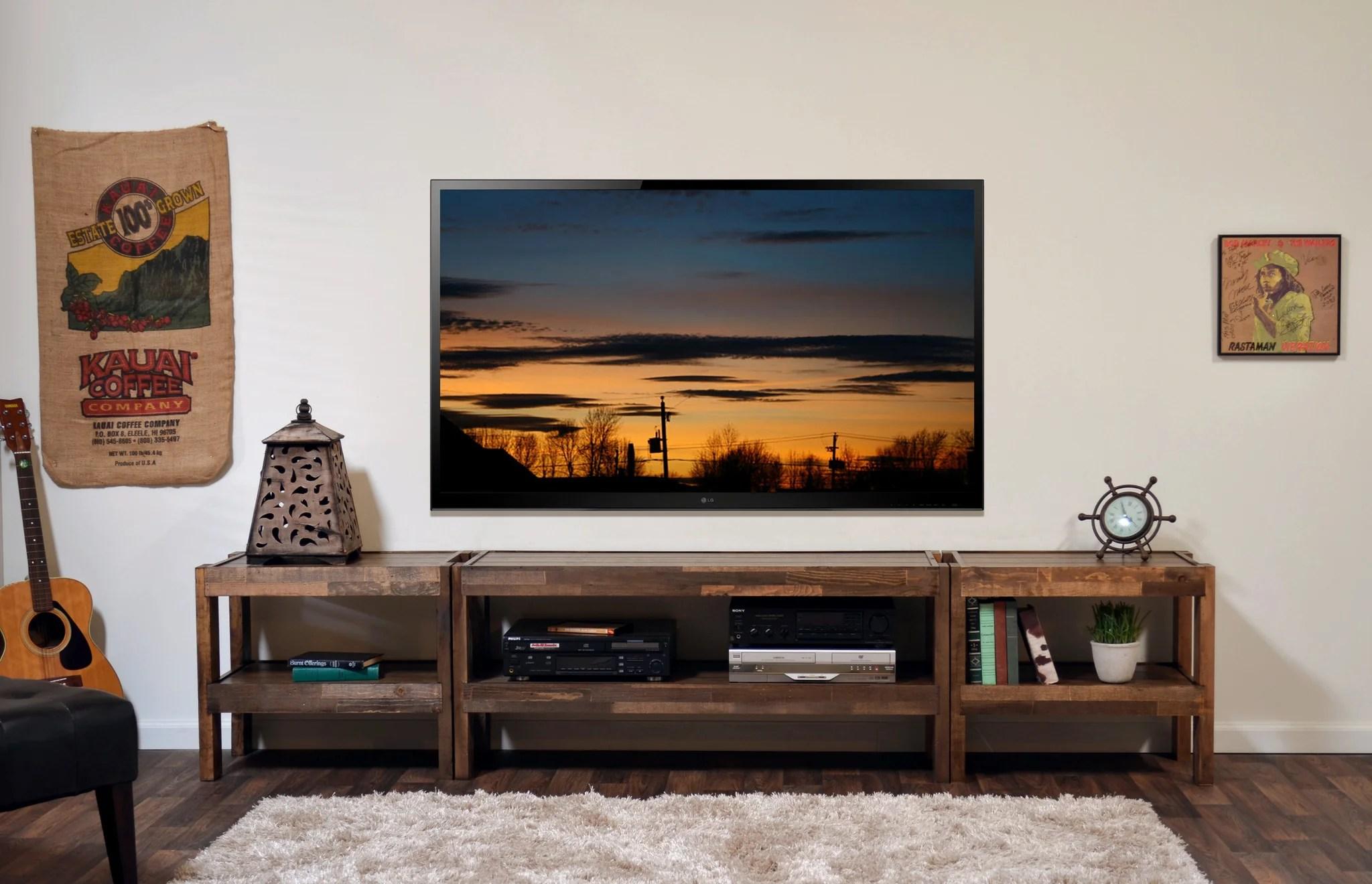 Modern Entertainment Centers Woodwaves