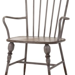 Rustic Metal Dining Chairs Japanese For Sale Gray Farmhouse Industrial Modern Arm