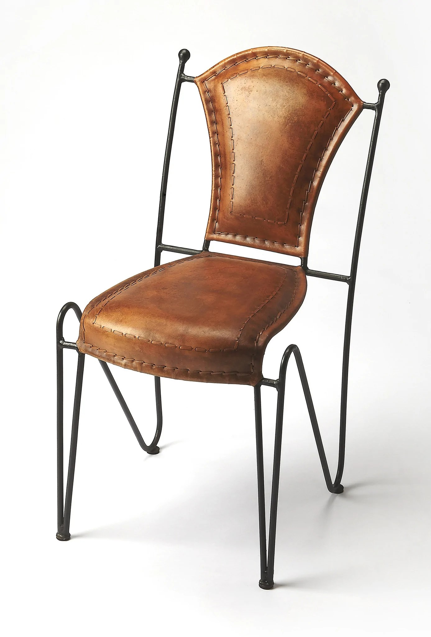 southwest dining chairs lazy boy big and tall office chair staples southwestern spanish leather iron woodwaves