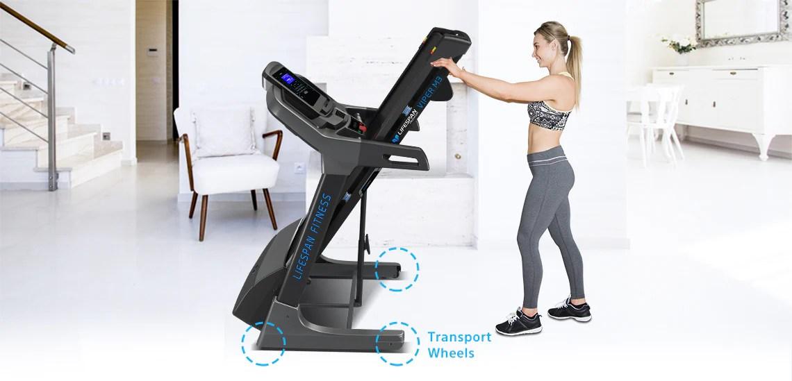 Lifespan VIPER #Light Commercial Fitness Treadmill 22 Incl
