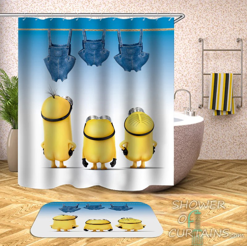 pants drying minions